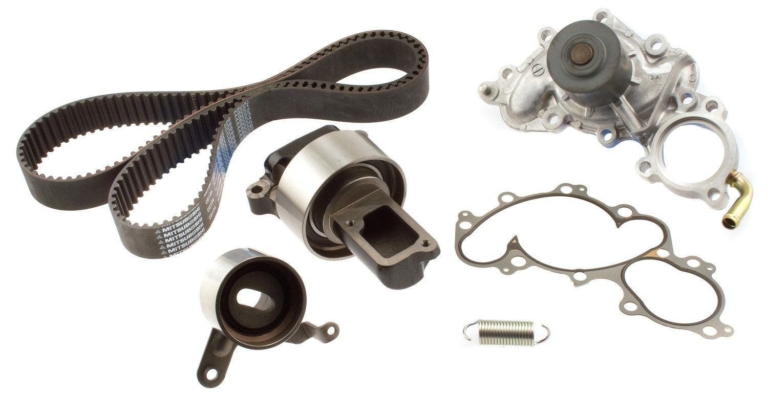 Toyota 4runner Engine Timing Belt Kit With Water Pump Replacement For 1988 6 Cyl 30l Aisin Tkt 016 Oil Cooler
