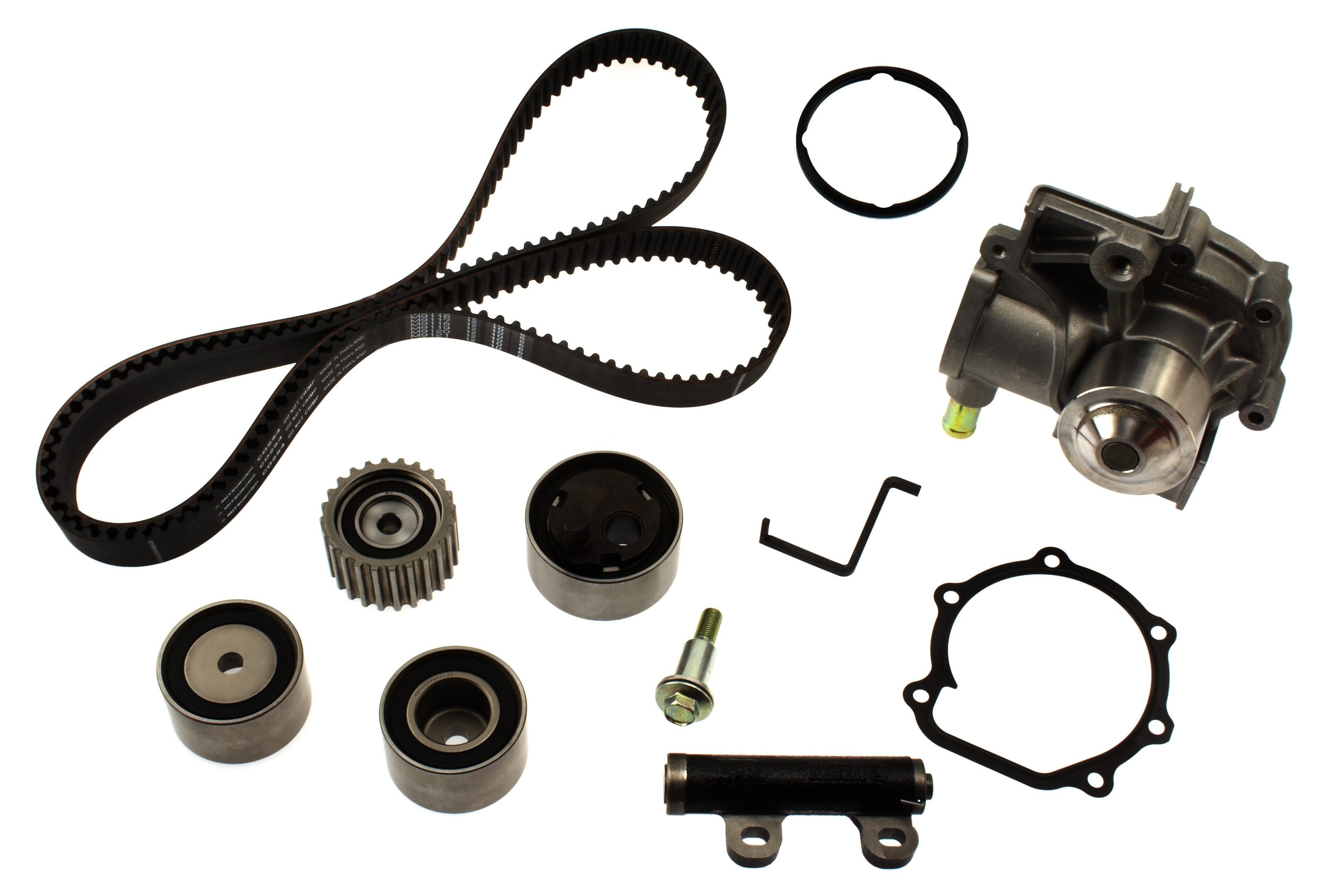 Subaru Legacy Engine Timing Belt Kit With Water Pump Replacement B4 Diagram 1990 4 Cyl 22l Aisin Tkf 003