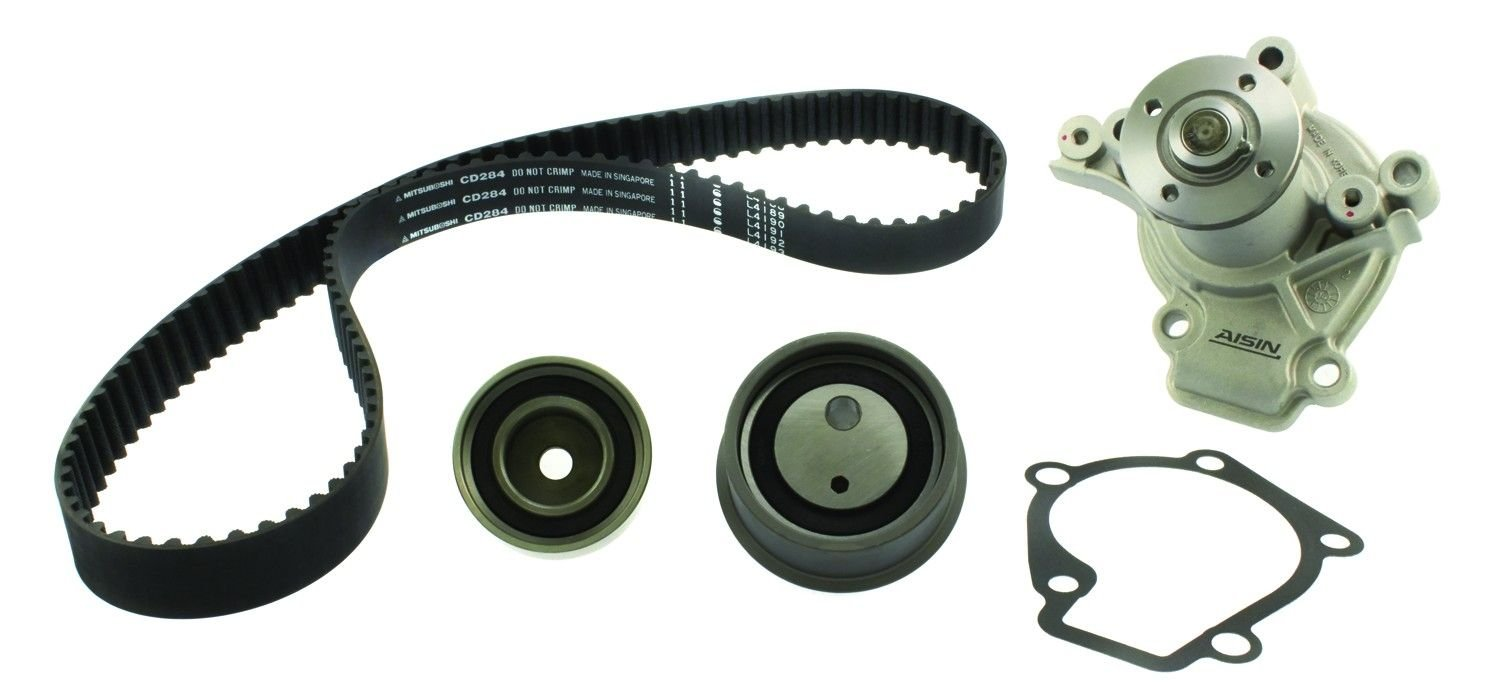 Hyundai Tiburon Engine Timing Belt Kit With Water Pump Replacement 2000 4 Cyl 20l Aisin Tkk 002
