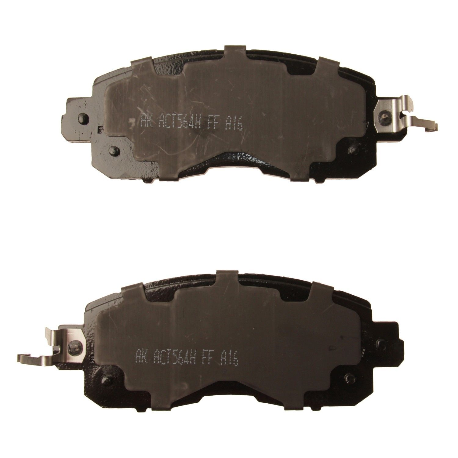 2013 Nissan Altima Disc Brake Pad   Front (Akebono ACT1650) Contents  Premium Stainless Hardware Included OE Pad Material Is Ceramic .