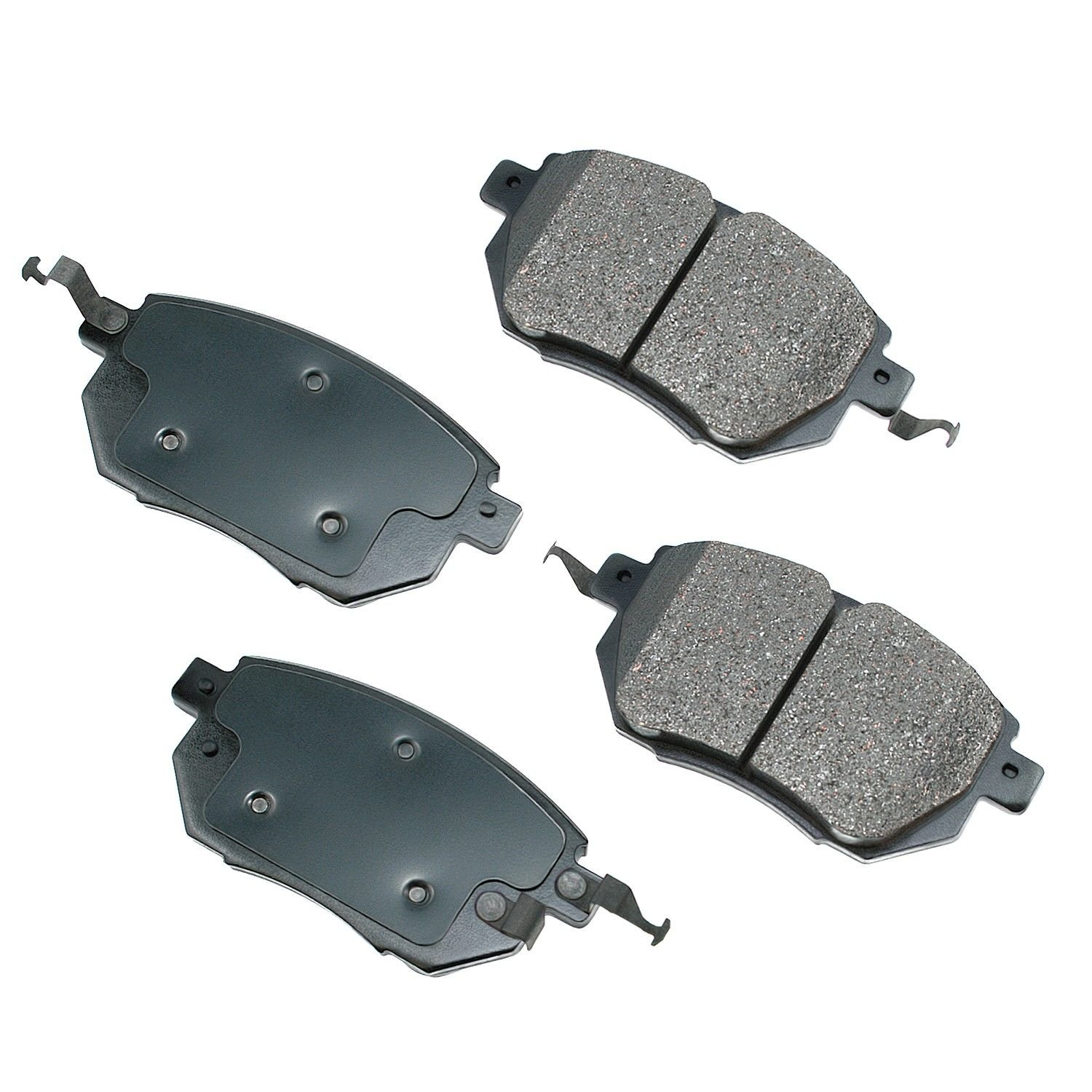 2005 Nissan Altima Disc Brake Pad   Front (Akebono ACT969) OE Pad Material  Is Ceramic .