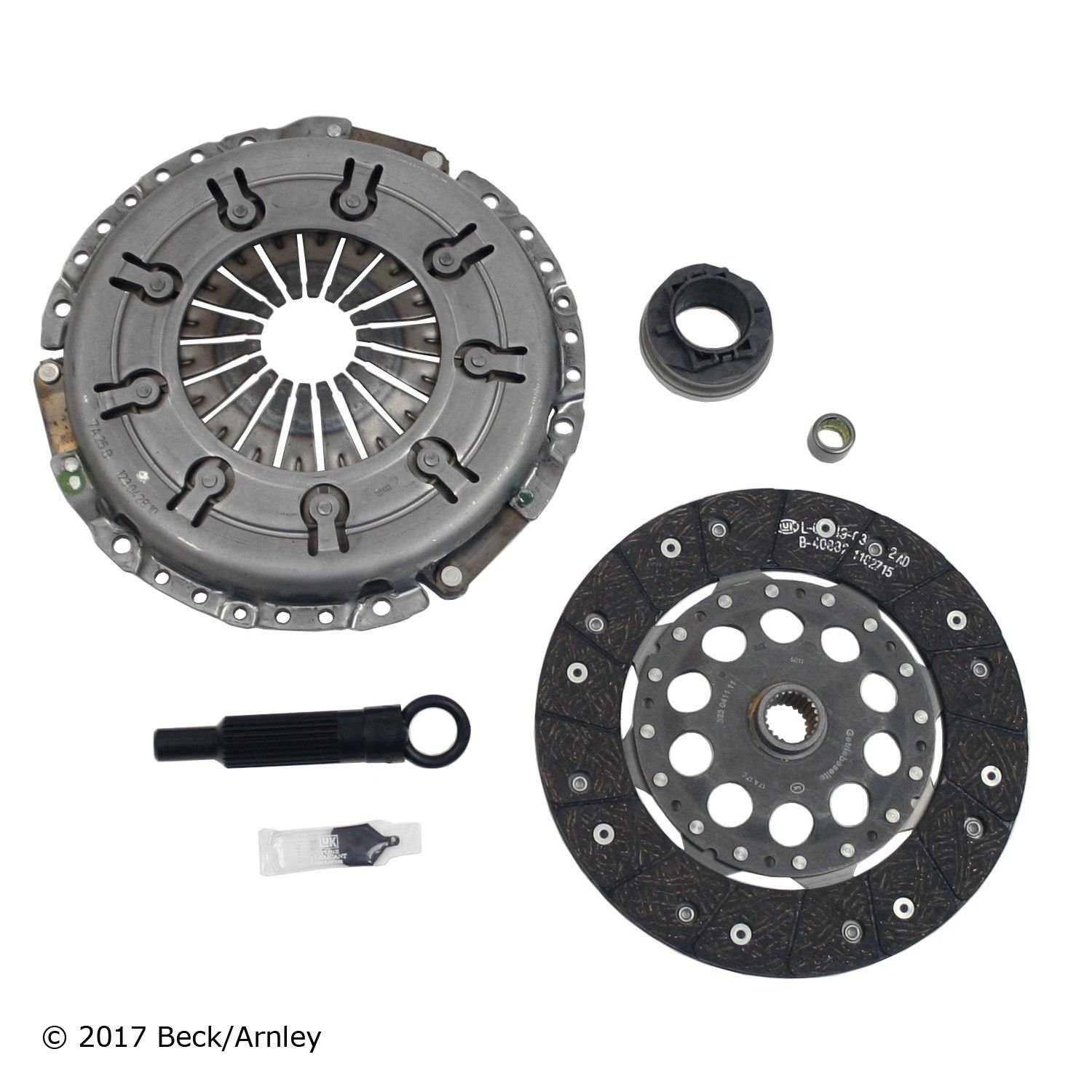 1997 Audi A4 Quattro Clutch Kit 4 Cyl 18L Beck Arnley 061 9364 NEW Original Replacement Service Set Flywheel Not Included DIAMETER INCHES 9 SPLINE