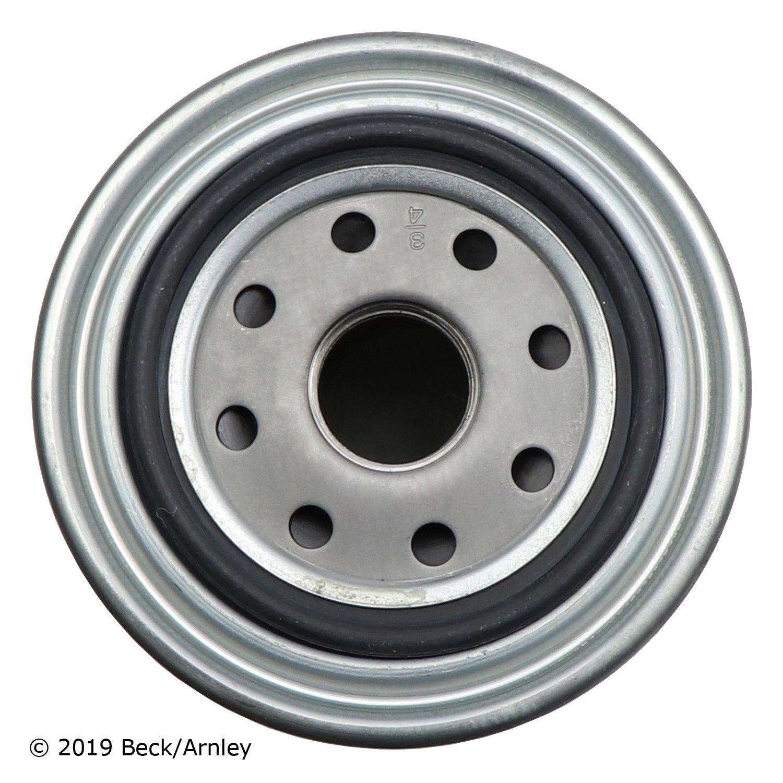 Nissan D21 Engine Oil Filter Replacement (Beck Arnley, Bosch