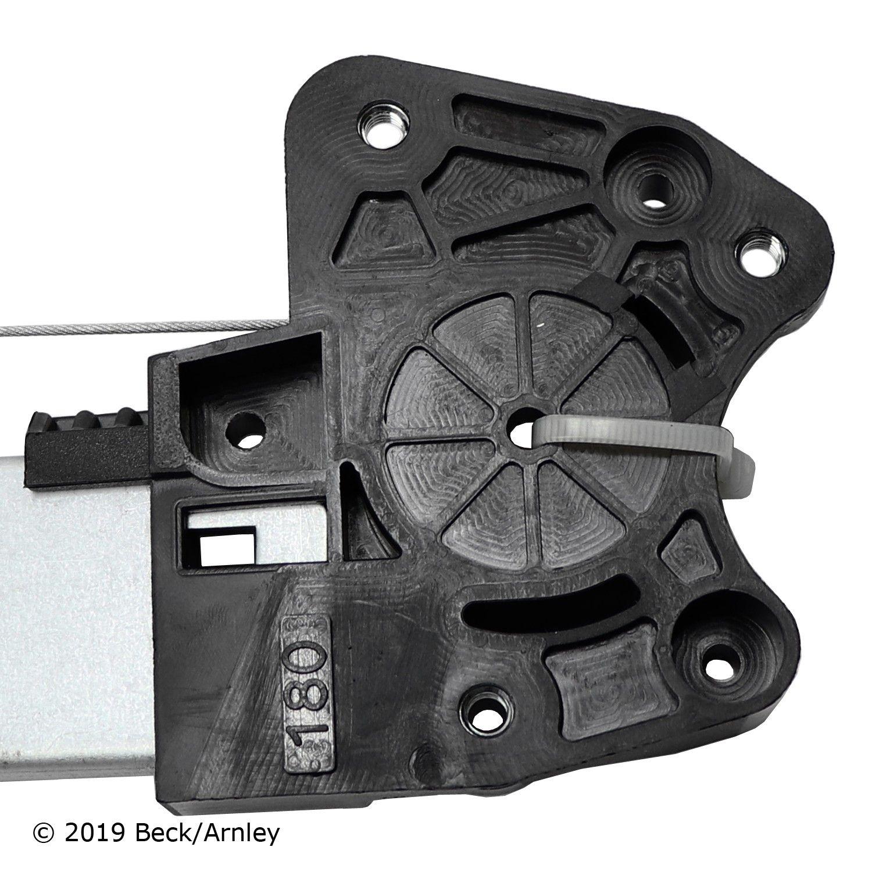 BECKARNLEY 212-0029 Power Window Regulator with Front Motor