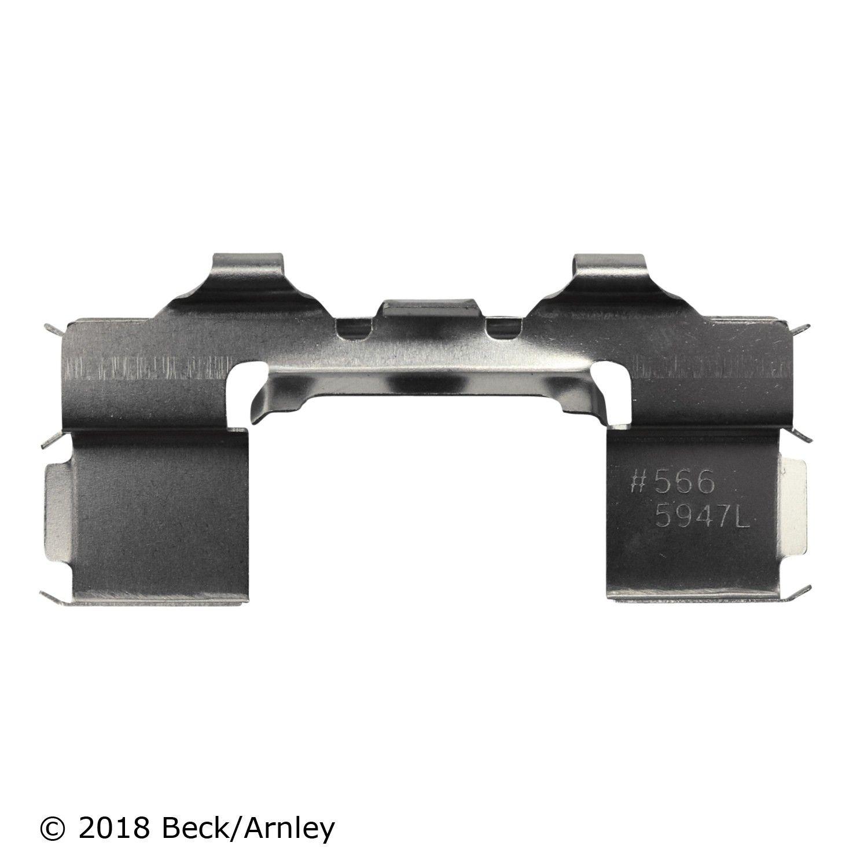 Better Brake Parts 13662 Front Disc Brake Hardware Kit