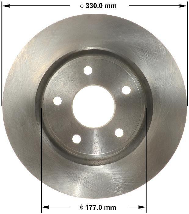 Rubber 68 Length BX D/&D PowerDrive 17A1720 Metric Standard Replacement Belt