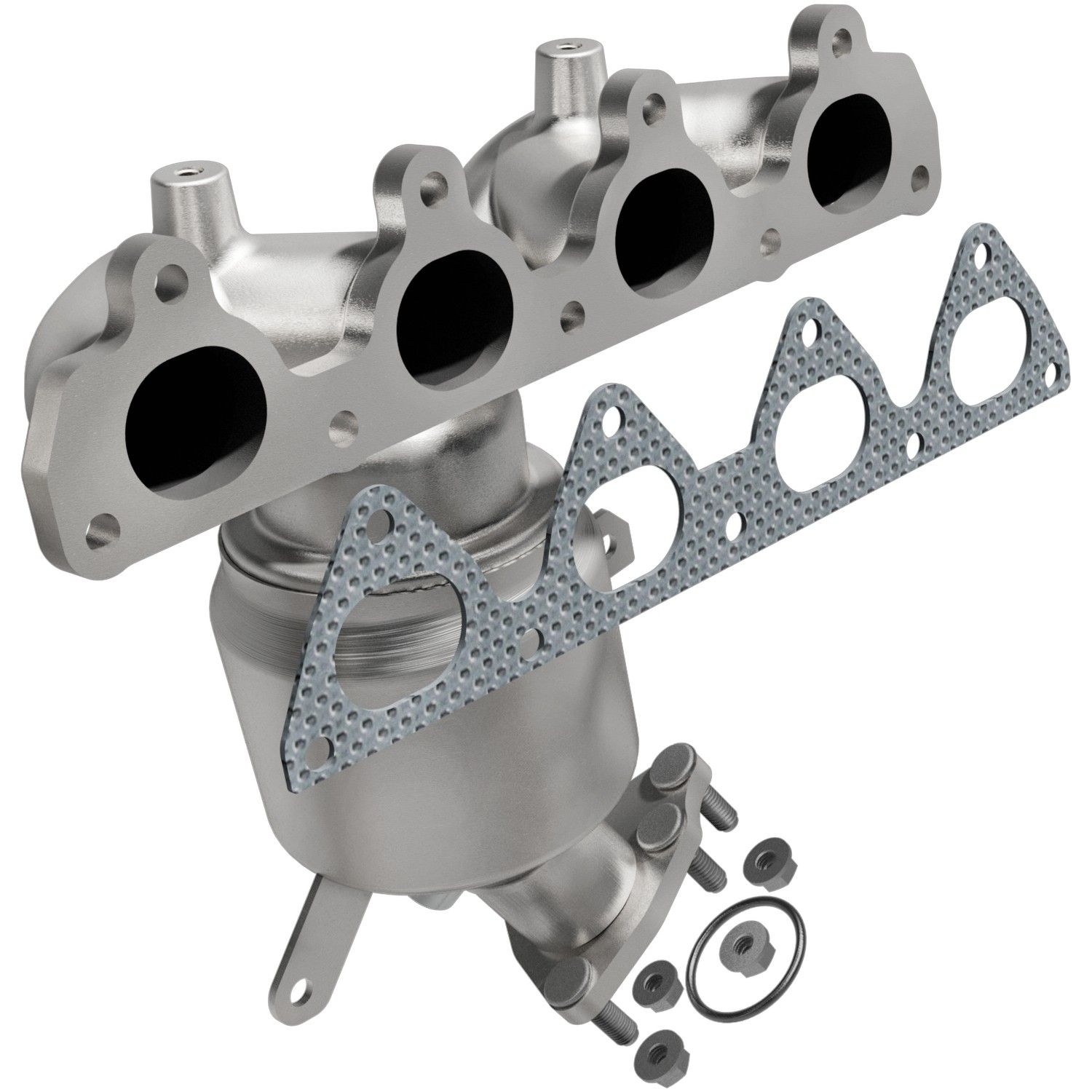 1999 Honda Civic Exhaust Manifold With Integrated Catalytic Converter 4 Cyl  1.6L (Bosal 096 884) Premium Load Between Converter And Front Pipe Not  Legal For ...