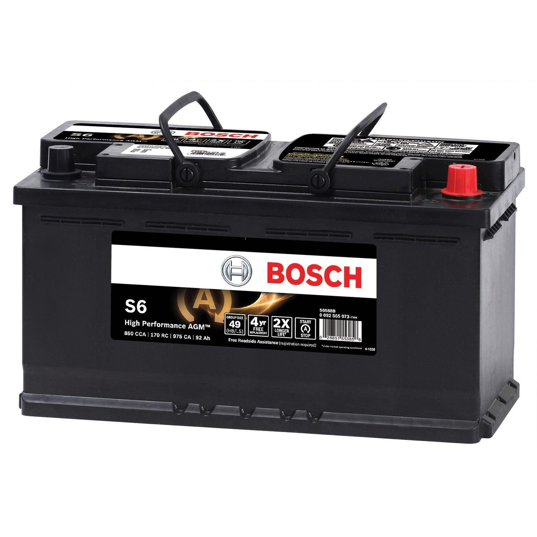 Volkswagen Touareg Vehicle Battery Replacement Bosch Exide Go Parts