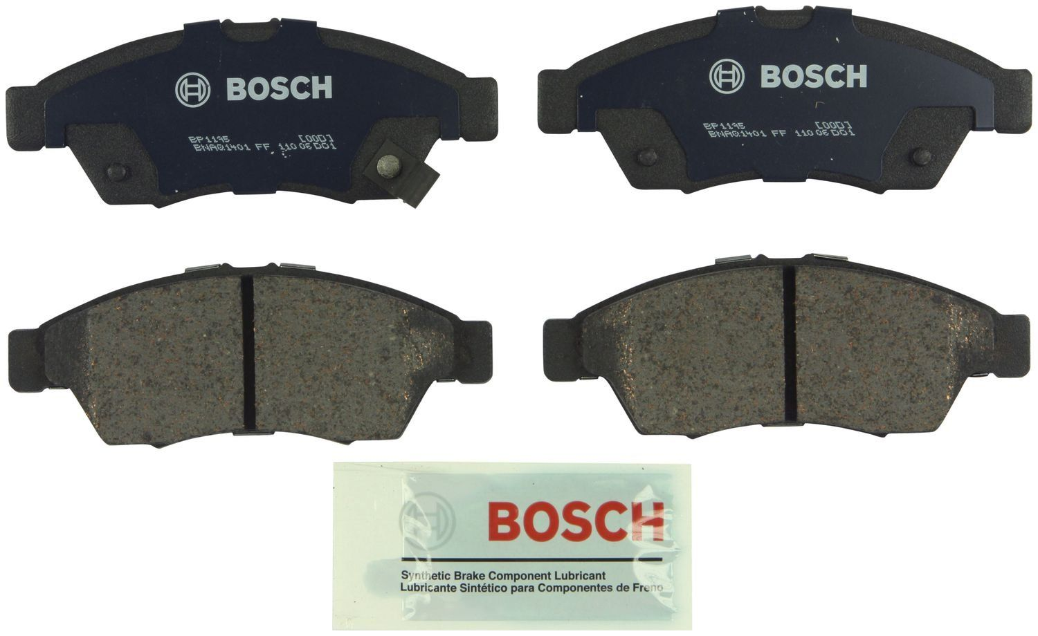 Suzuki Aerio Disc Brake Pad Replacement Beck Arnley Bosch Centric 2005 Parts Diagram 2006 Front Bp1195 With Akebono Caliper