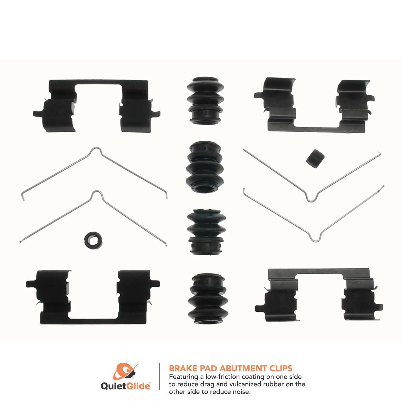 Disc Brake Hardware Kit Front Carlson 13273