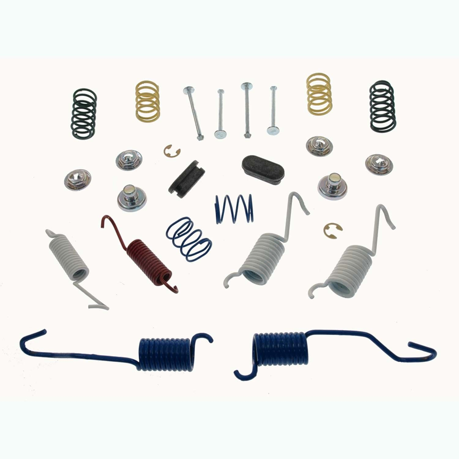 drum brake hardware kit replacement acdelco beck arnley carlson centr go parts. Black Bedroom Furniture Sets. Home Design Ideas