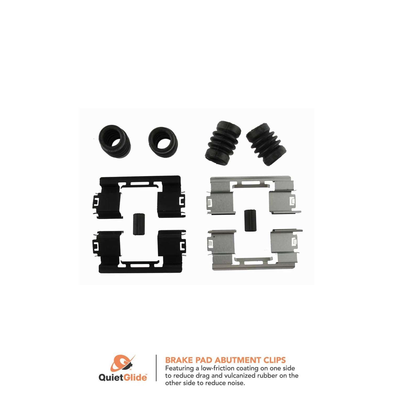 117.62076 Centric Disc Brake Hardware Kit