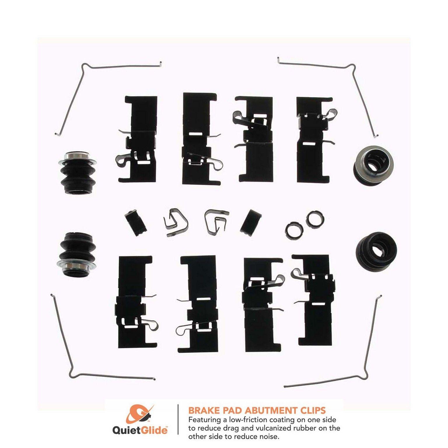Better Brake Parts 13400 Front Disc Brake Hardware Kit