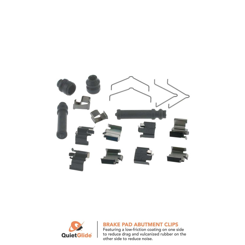 Carlson 13459Q Front Disc Brake Hardware Kit