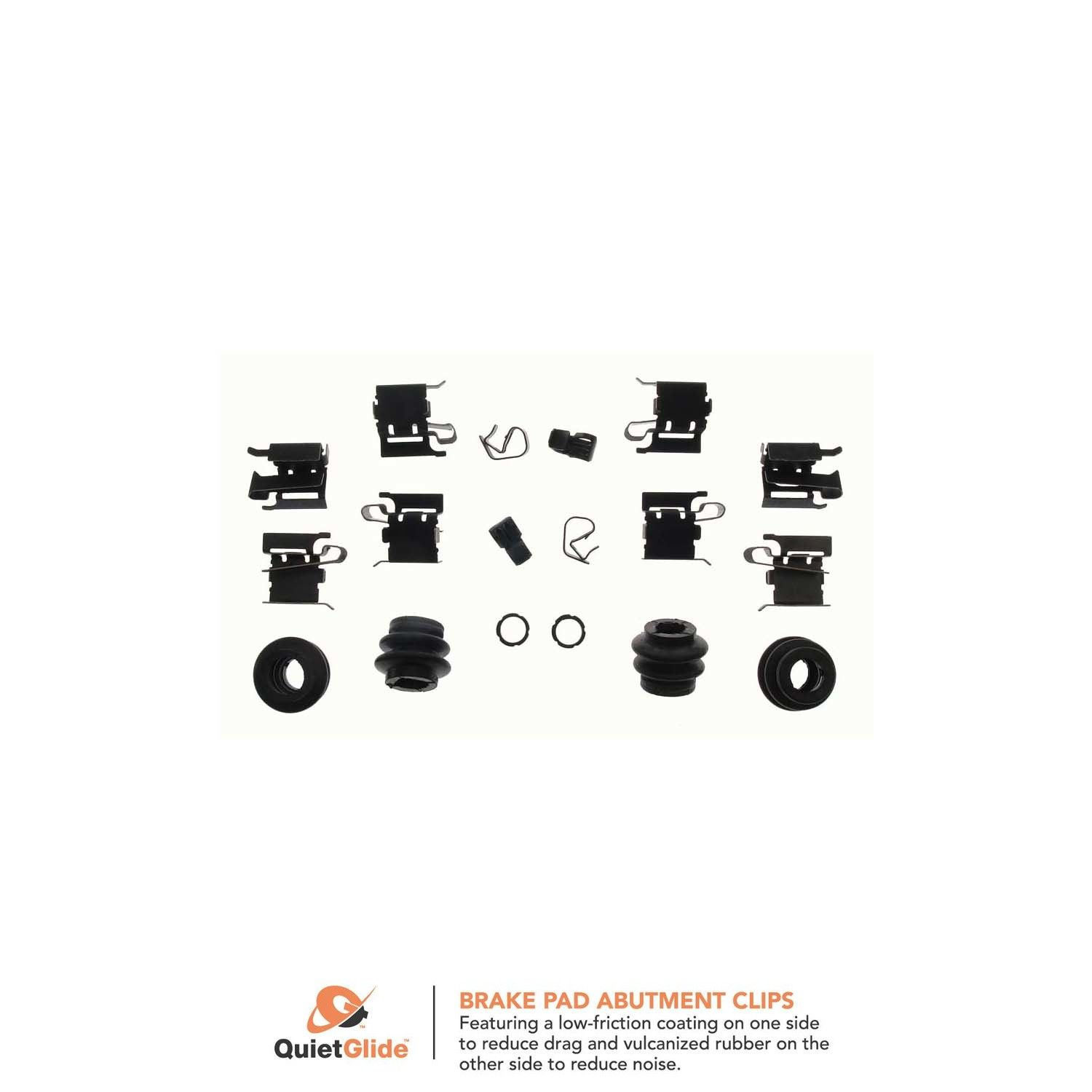 Beck Arnley 084-1569 Disc Brake Hardware Kit