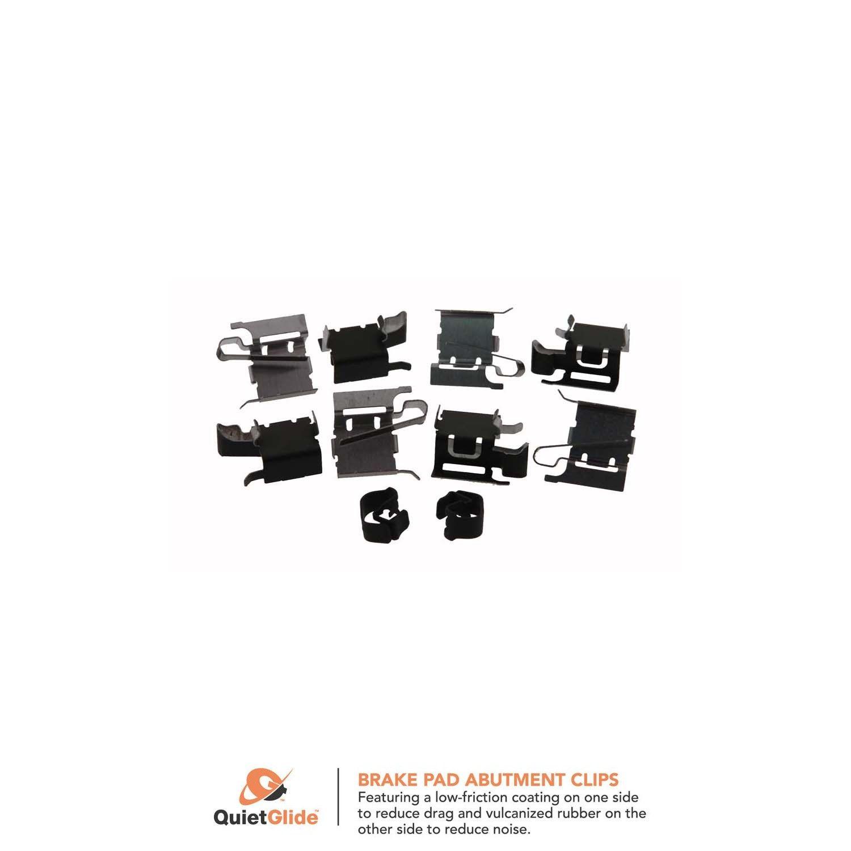 Carlson P817 Front Disc Brake Hardware Kit