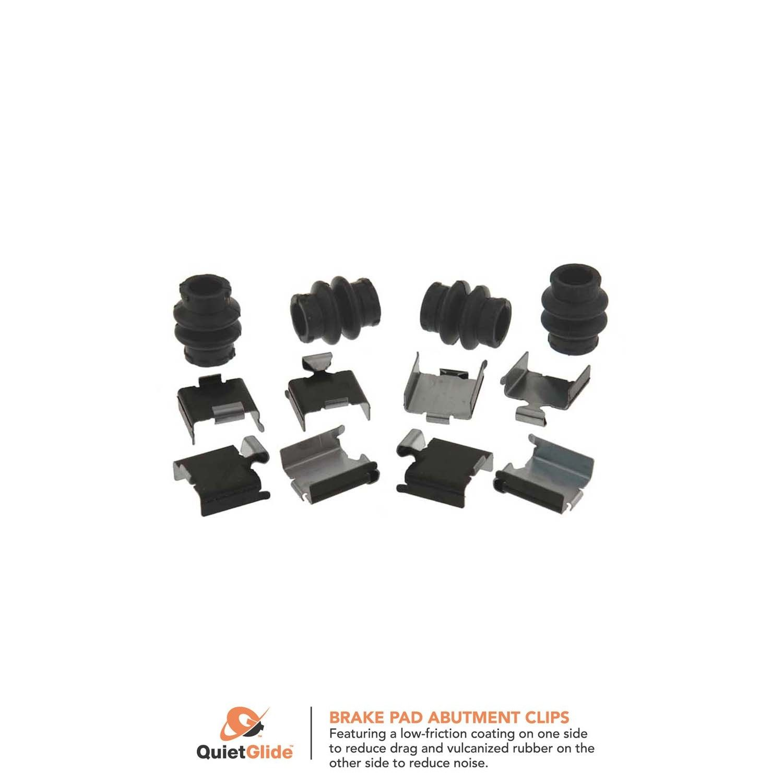 Carlson H5751Q Rear Disc Brake Hardware Kit