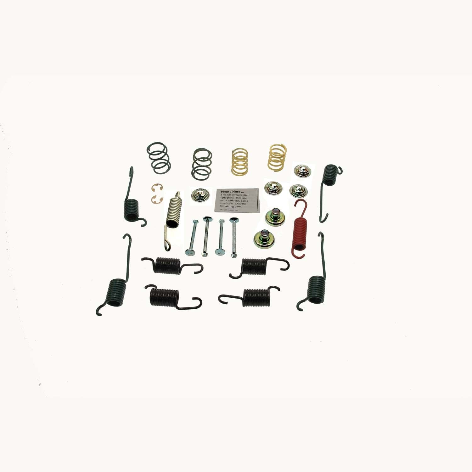 Pontiac Grand Am Drum Brake Hardware Kit Replacement Carlson 1998 Rear H7281 200 X 45mm 719