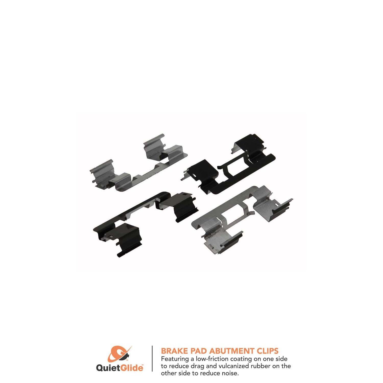 Rear Carlson P1012 Disc Brake Pad Installation Kit