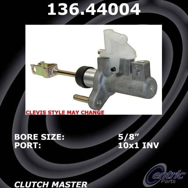 Centric Parts 136.44101 Clutch Master Cylinder