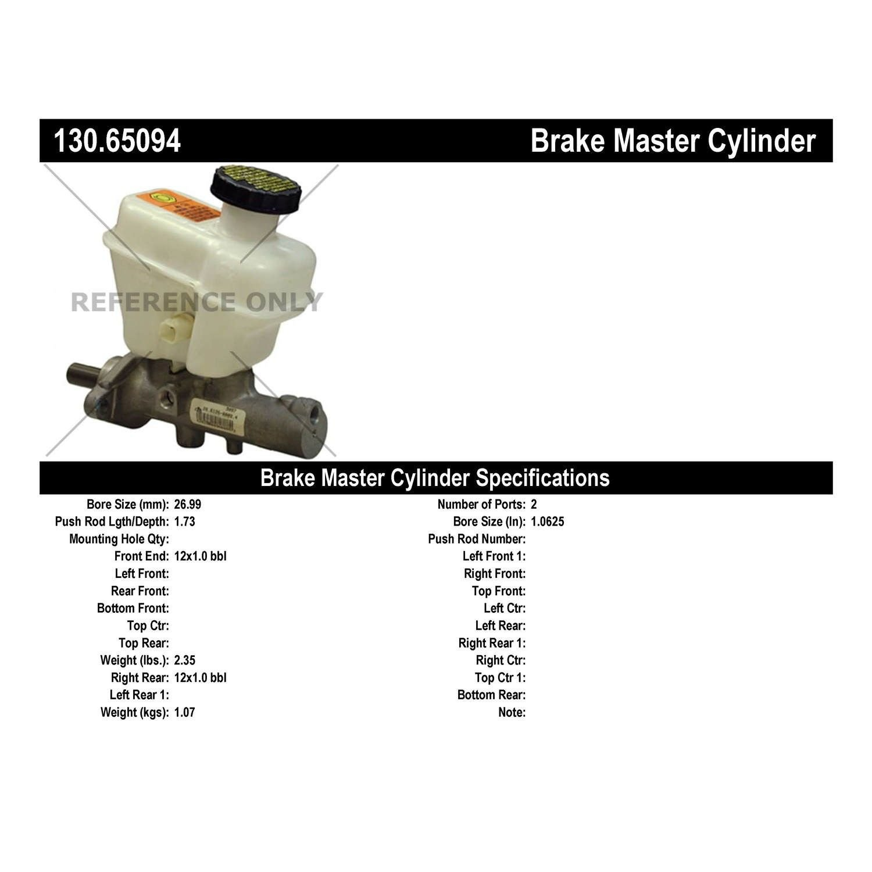 Brake Master Cylinder-First Stop Dorman M630000