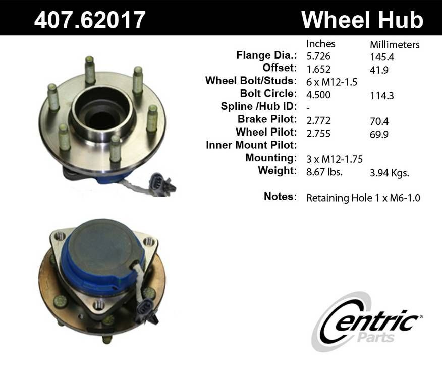 Cadillac SRX Wheel Bearing and Hub Assembly Replacement