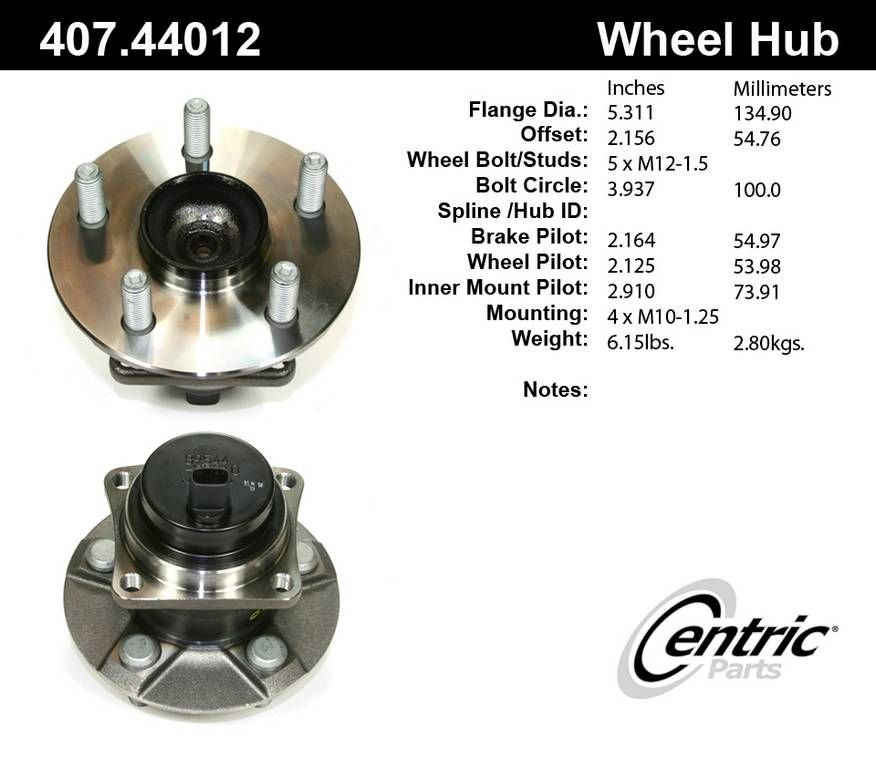 Toyota Corolla Wheel Bearing and Hub Assembly Replacement