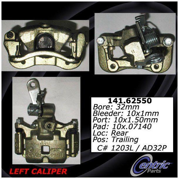 Disc Brake Caliper-Caliper with Installation Hardware Rear Left 99-17276B Reman