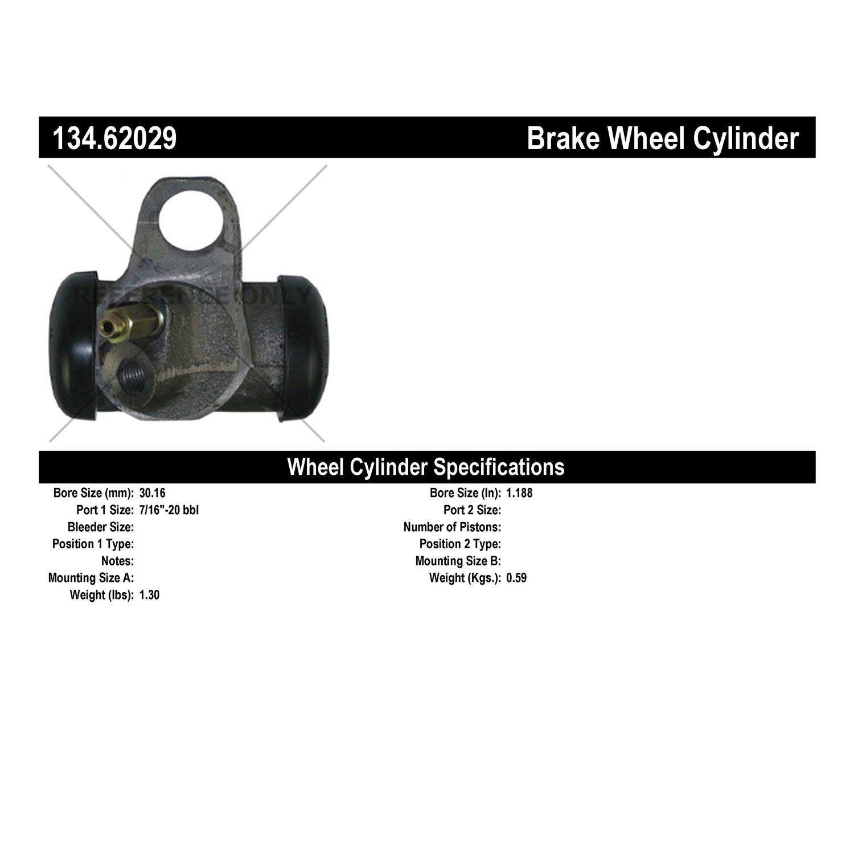 Dorman W51086 Front Left Wheel Cylinder