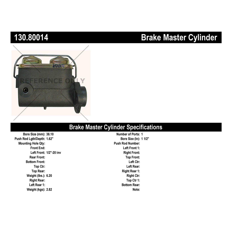 Chevrolet C60 Brake Master Cylinder Replacement (Cardone