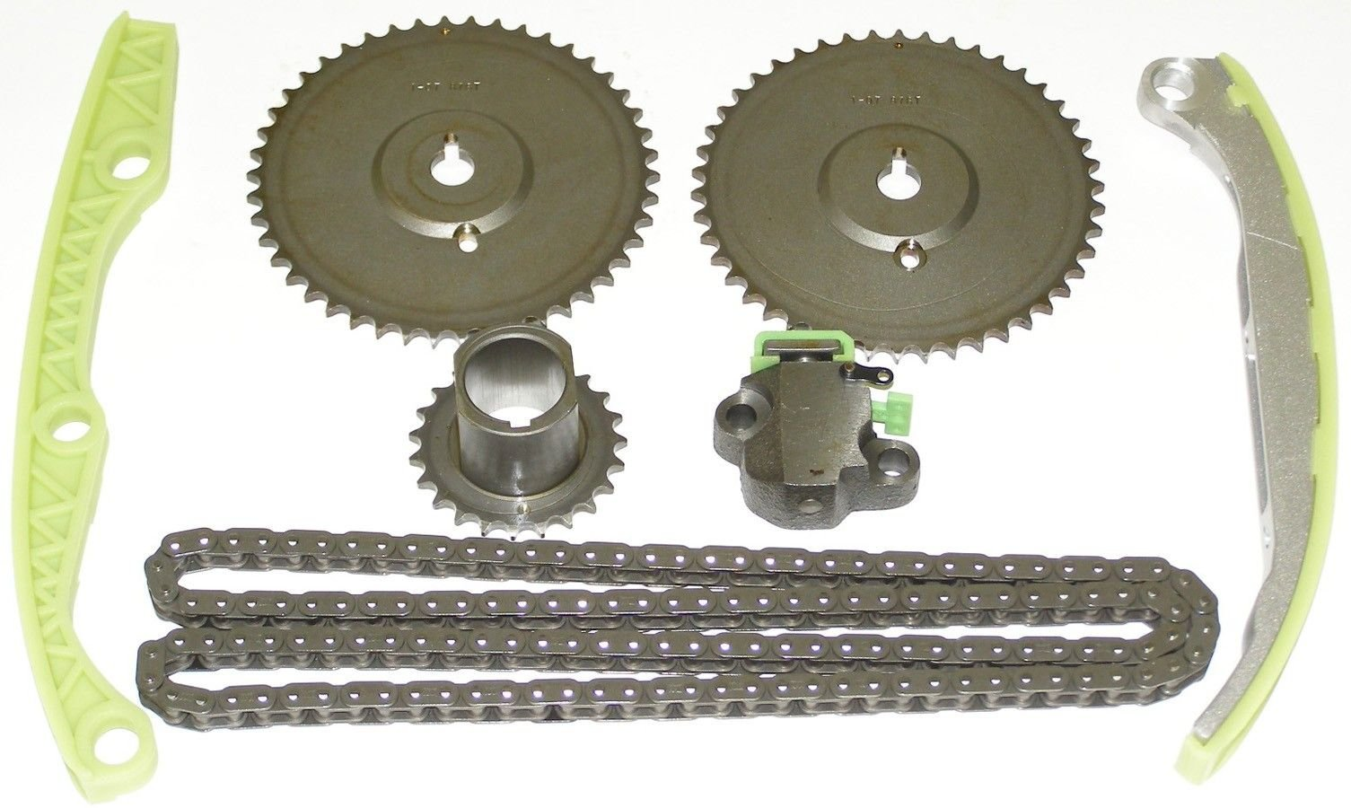 Saturn Sl2 Engine Timing Chain Kit Replacement Cloyes Victor 2001 Front 4 Cyl 19l 9 4204s Includes Cam 2 Crank Tensioner Guide