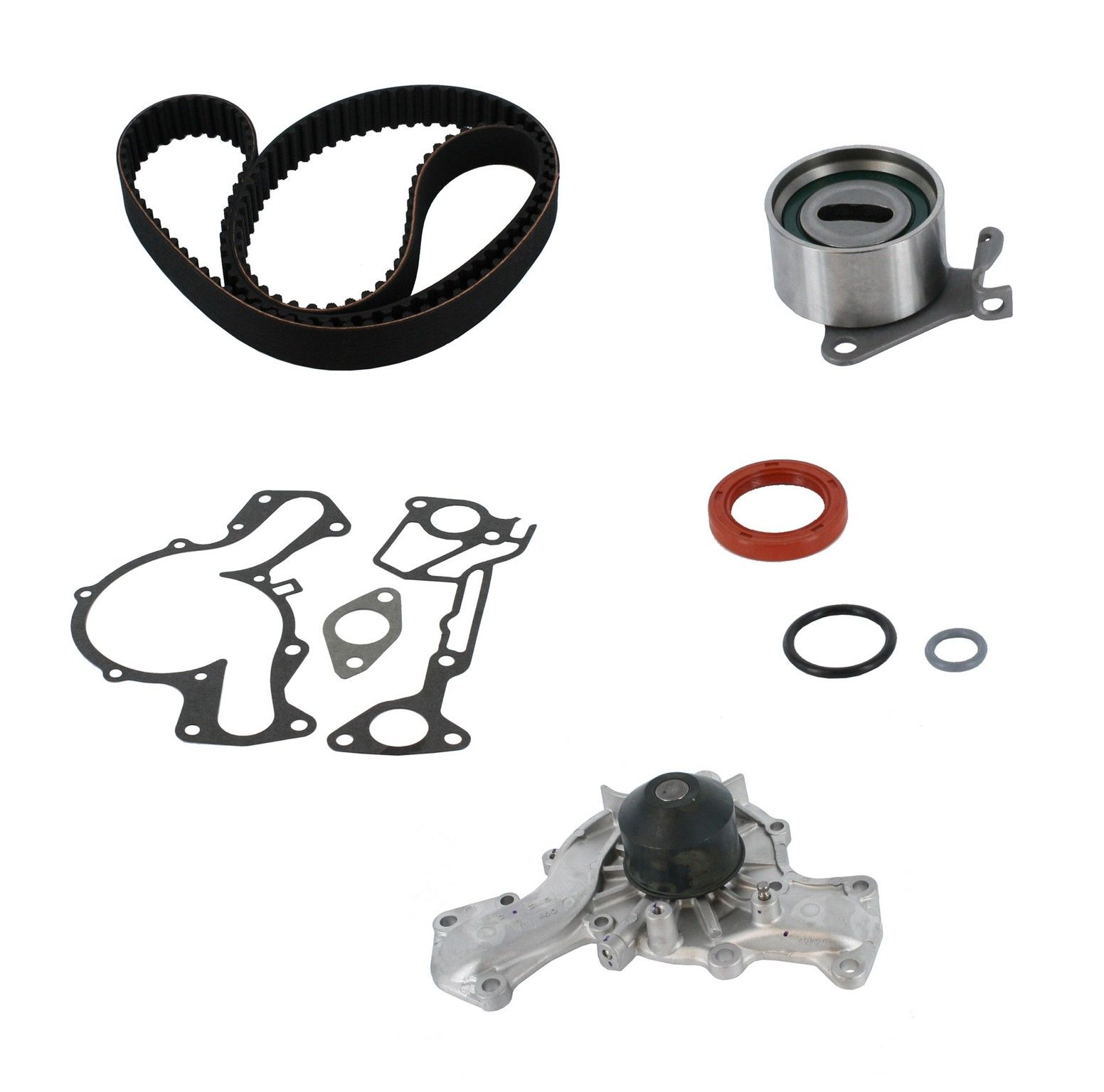 Engine Timing Belt Kit With Water Pump Replacement Airtex Aisin 1998 Nissan Quest Hyundai Sonata 6 Cyl 30l Crp Pp139lk2 Pro Series Plus Contitech Interference Eng
