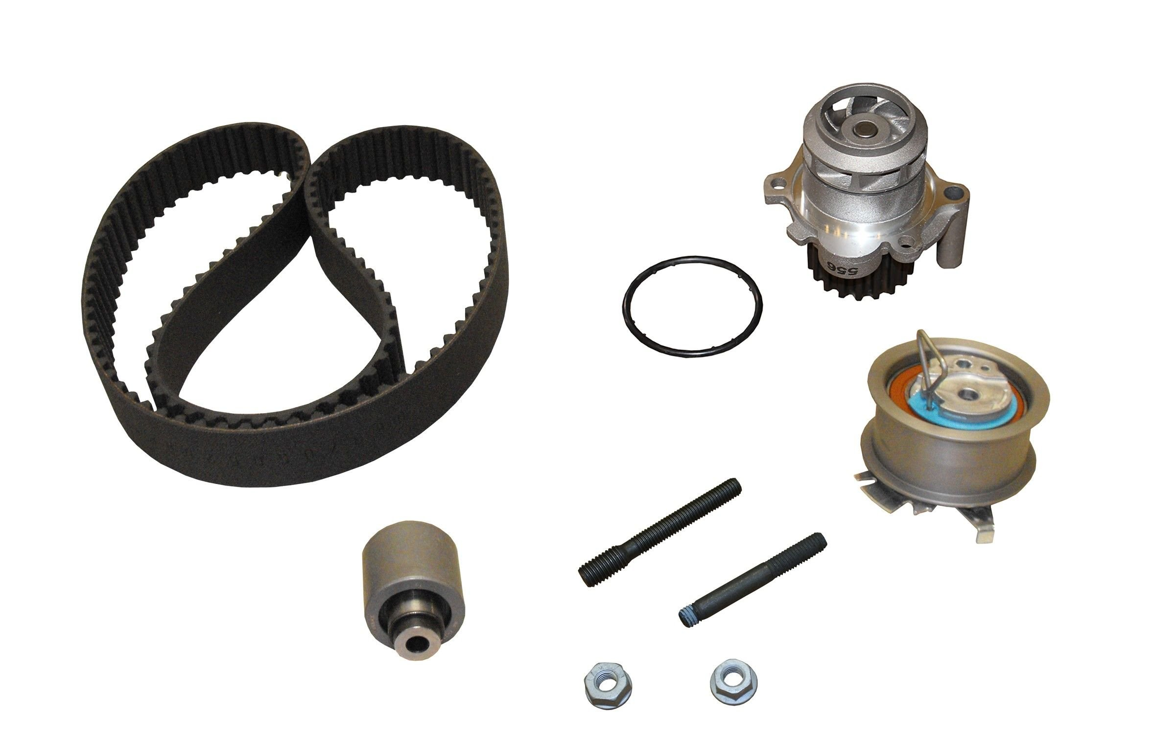 Volkswagen Jetta Engine Timing Belt Kit With Water Pump Replacement Dayco Idler 2006 4 Cyl 19l Crp Tb333lk2 Mi Pro Series Contitech W Metal Impeller Interference Eng