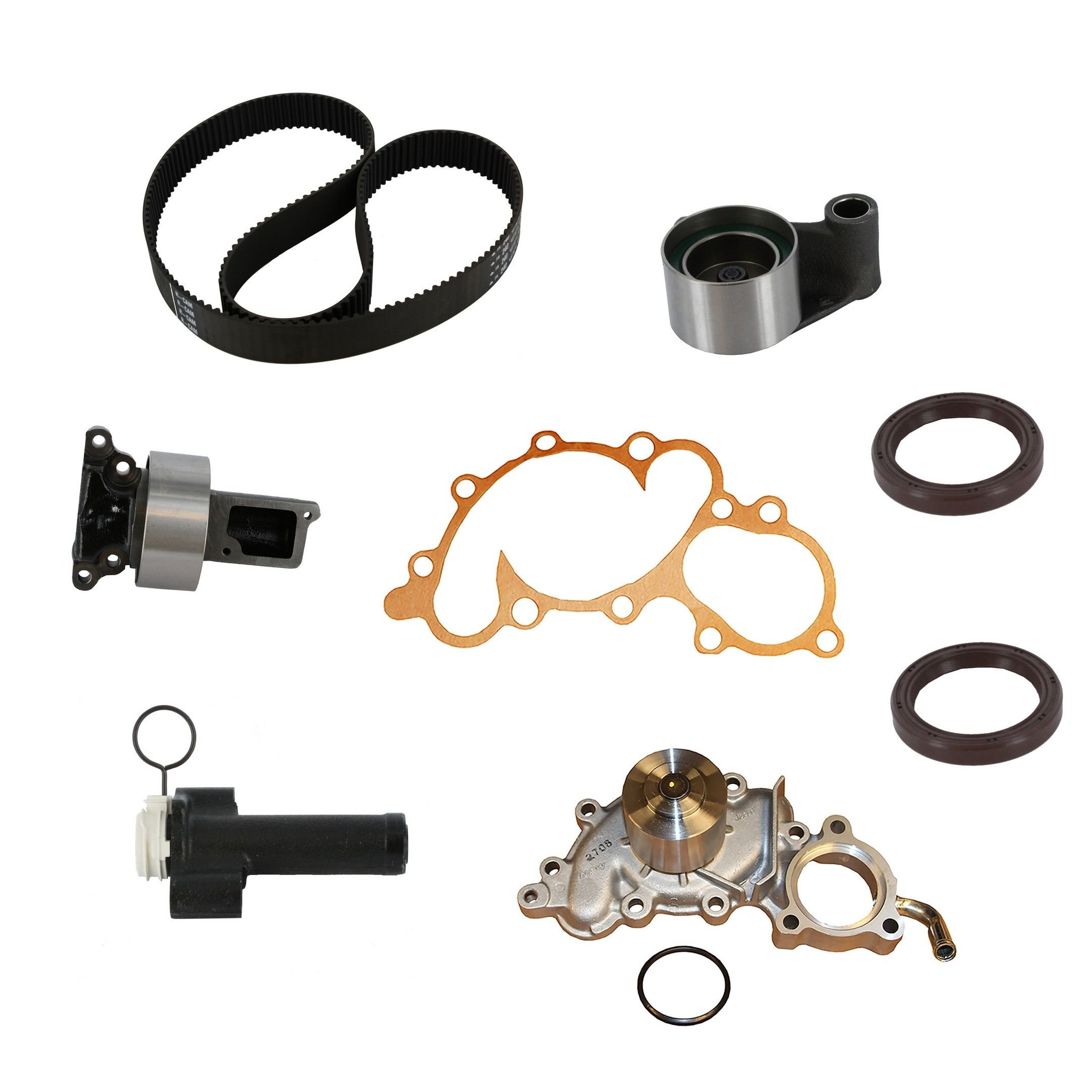 Toyota 4runner Engine Timing Belt Kit With Water Pump Replacement For 1993 6 Cyl 30l Crp Pp240lk1 Pro Series Plus Contitech Includes Hyd Tensioner