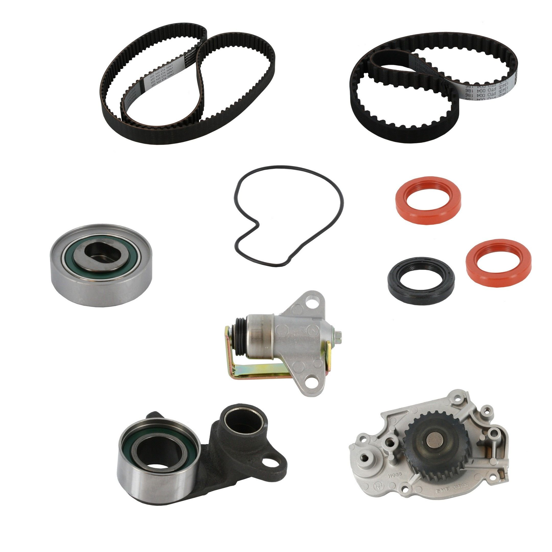 Honda Prelude Engine Timing Belt Kit With Water Pump Replacement 1992 Balancer 1b1e37e 1