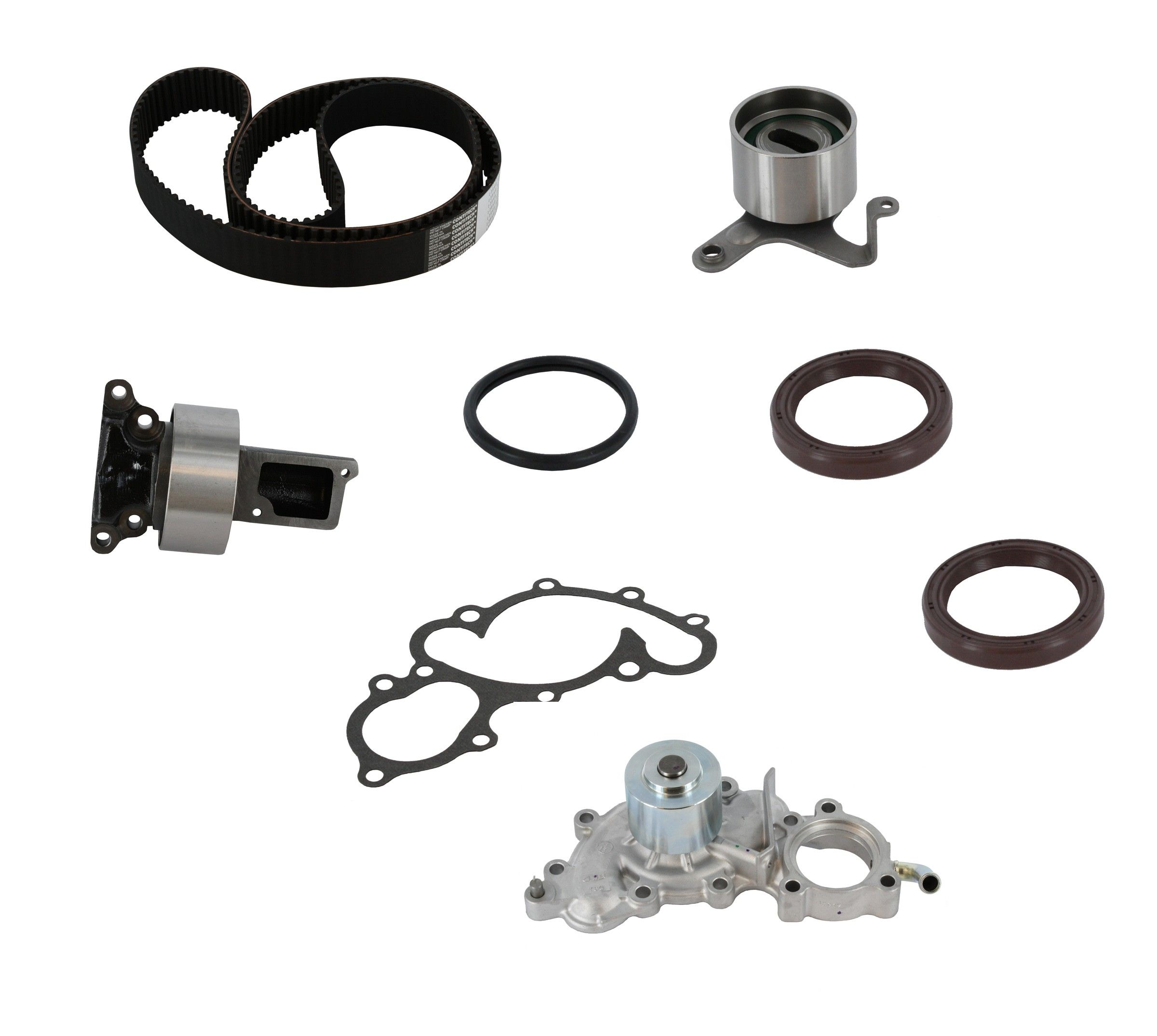 Toyota 4runner Engine Timing Belt Kit With Water Pump Replacement 1992 6 Cyl 30l Crp Pp154lk1 Pro Series Plus Contitech W Bypass Tube
