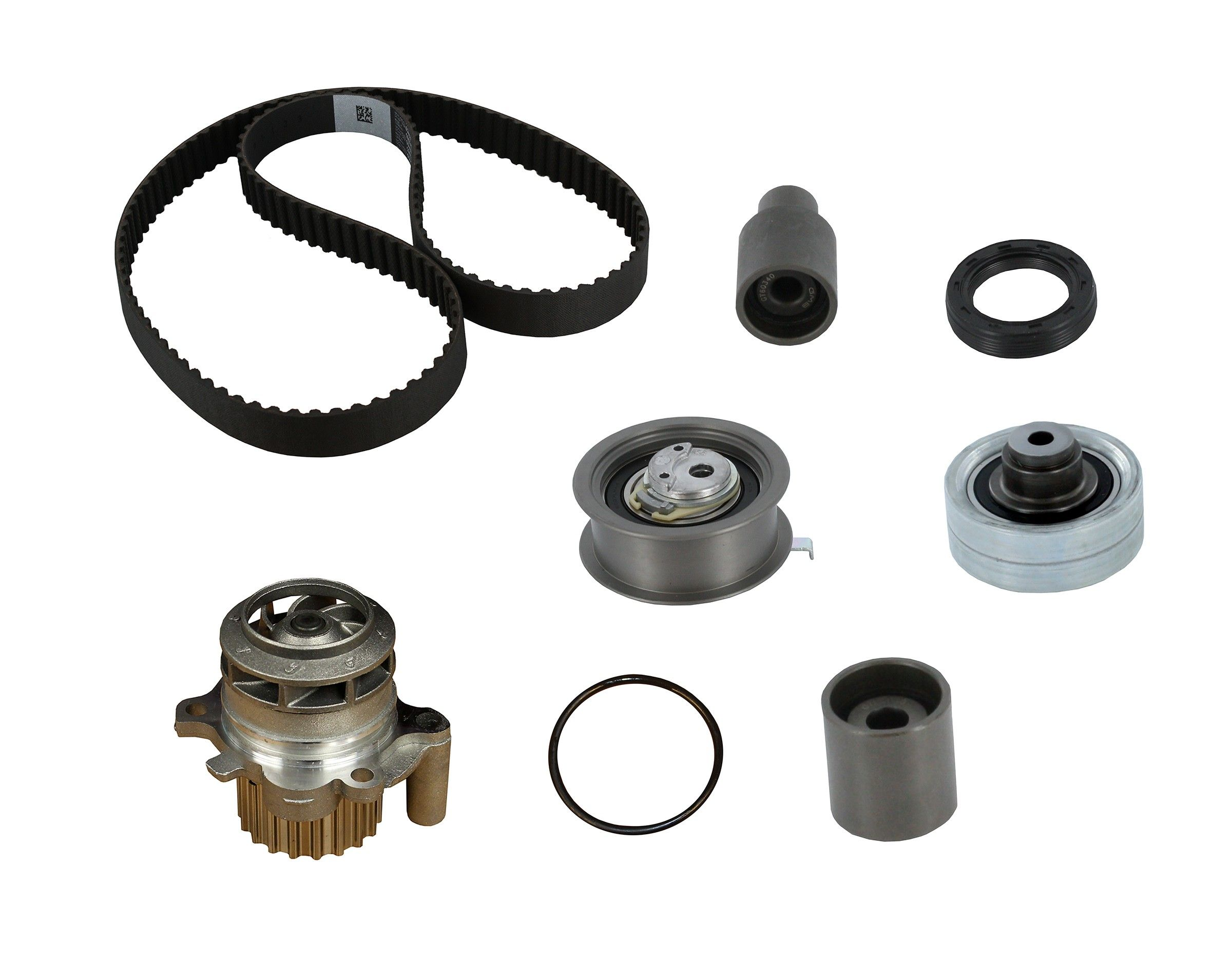 Volkswagen Jetta Engine Timing Belt Kit With Water Pump Replacement Dayco Idler 2001 4 Cyl 19l Crp Pp321lk1 Mi Pro Series Plus Contitech From Vin 9m1075841