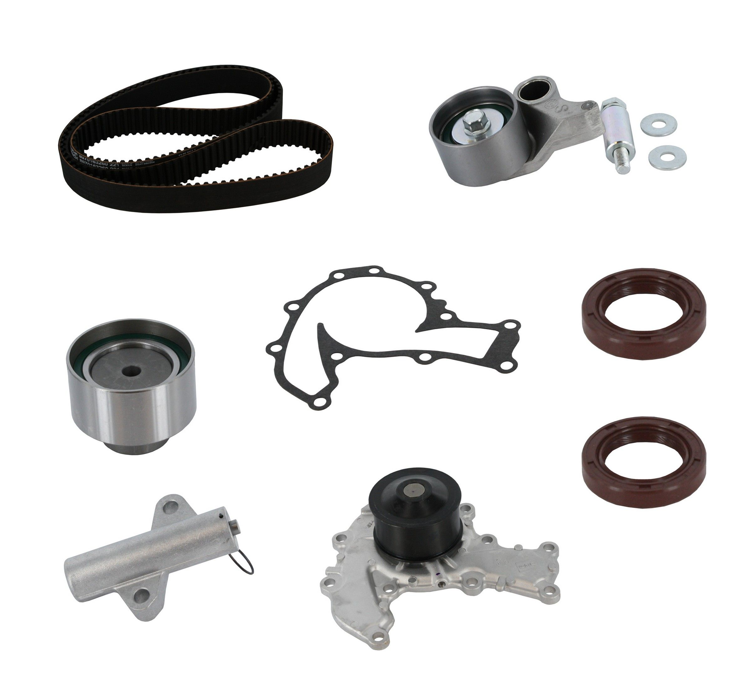Isuzu Rodeo Engine Timing Belt Kit With Water Pump Replacement 1999 Amigo 1997 6 Cyl 32l Crp Pp221lk2 Pro Series Plus Contitech Interference Eng Includes Hyd
