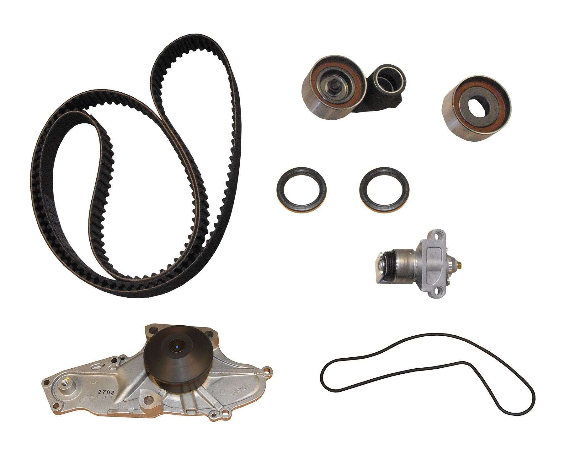 Honda Accord Engine Timing Belt Kit With Water Pump Replacement Tensioner 2002 6 Cyl 30l Crp Pp286lk2 Pro Series Plus Contitech Use Until Inventory Is Depleted
