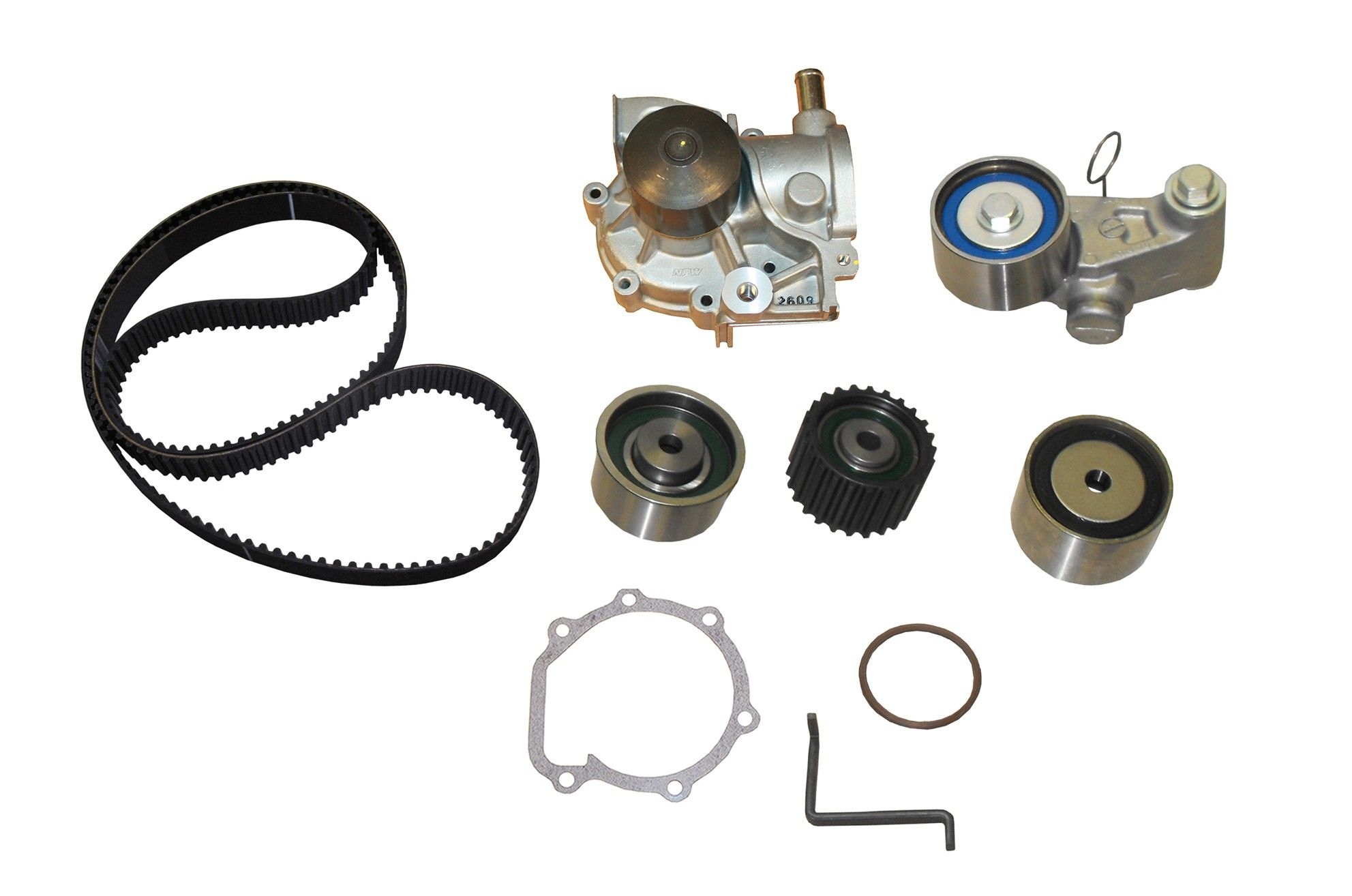 Subaru Outback Engine Timing Belt Kit With Water Pump Replacement 2000 Marks 2005 4 Cyl 25l Crp Tb307lk1 Pro Series Contitech Interference Eng Includes Hyd