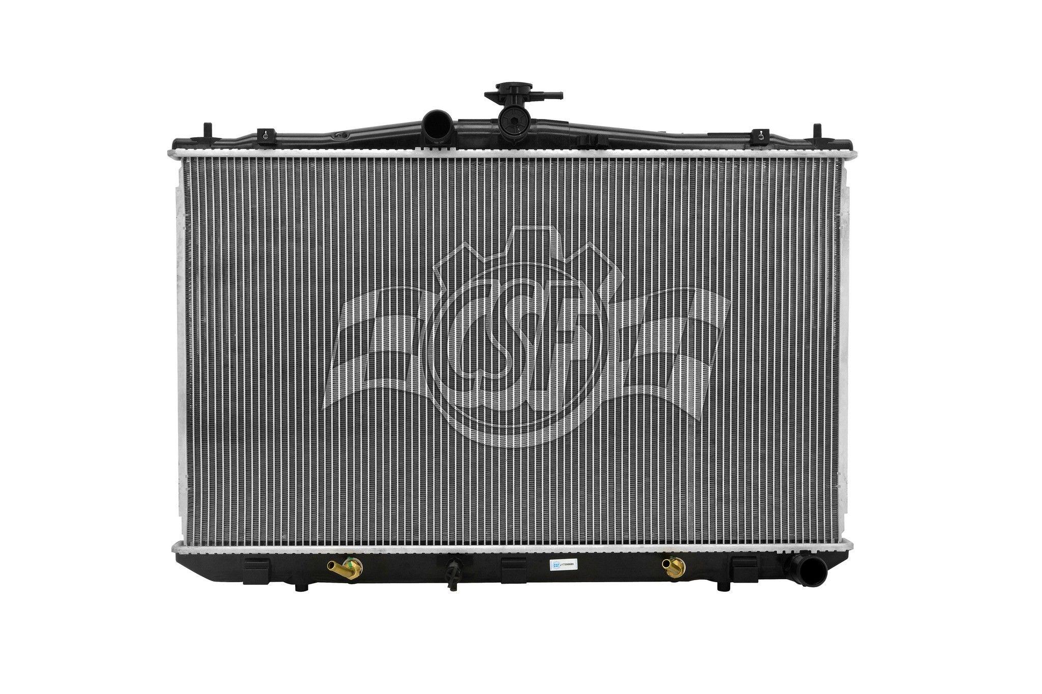 Lexus RX350 Radiator Replacement (APDI, CSF Radiator, Denso, Global