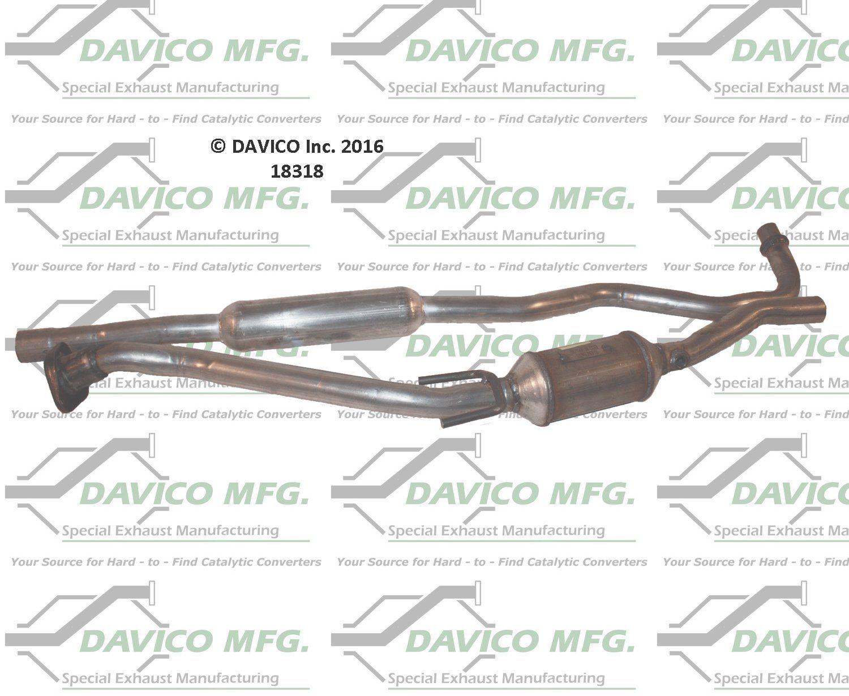 Davico 18411 Catalytic Converter