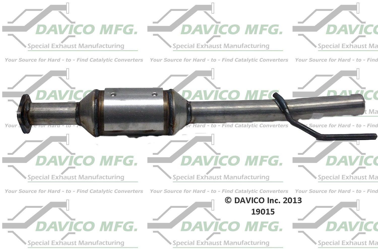 ford escape catalytic converter replacement (bosal, dec, davico