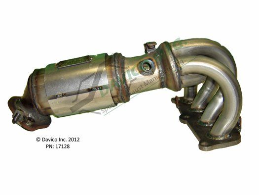 Catalytic Converter Front Davico 17128