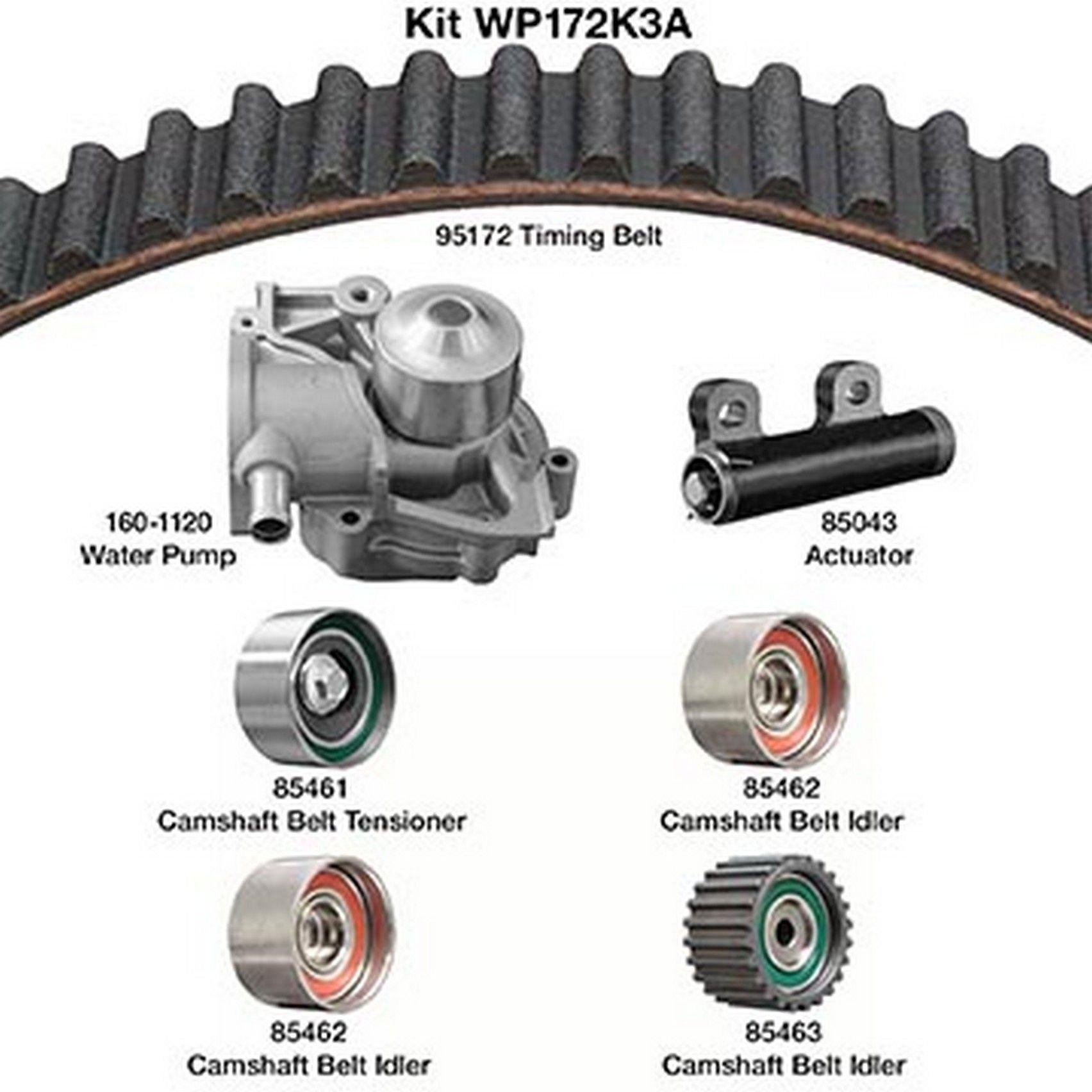 Subaru Impreza Engine Timing Belt Kit with Water Pump Replacement