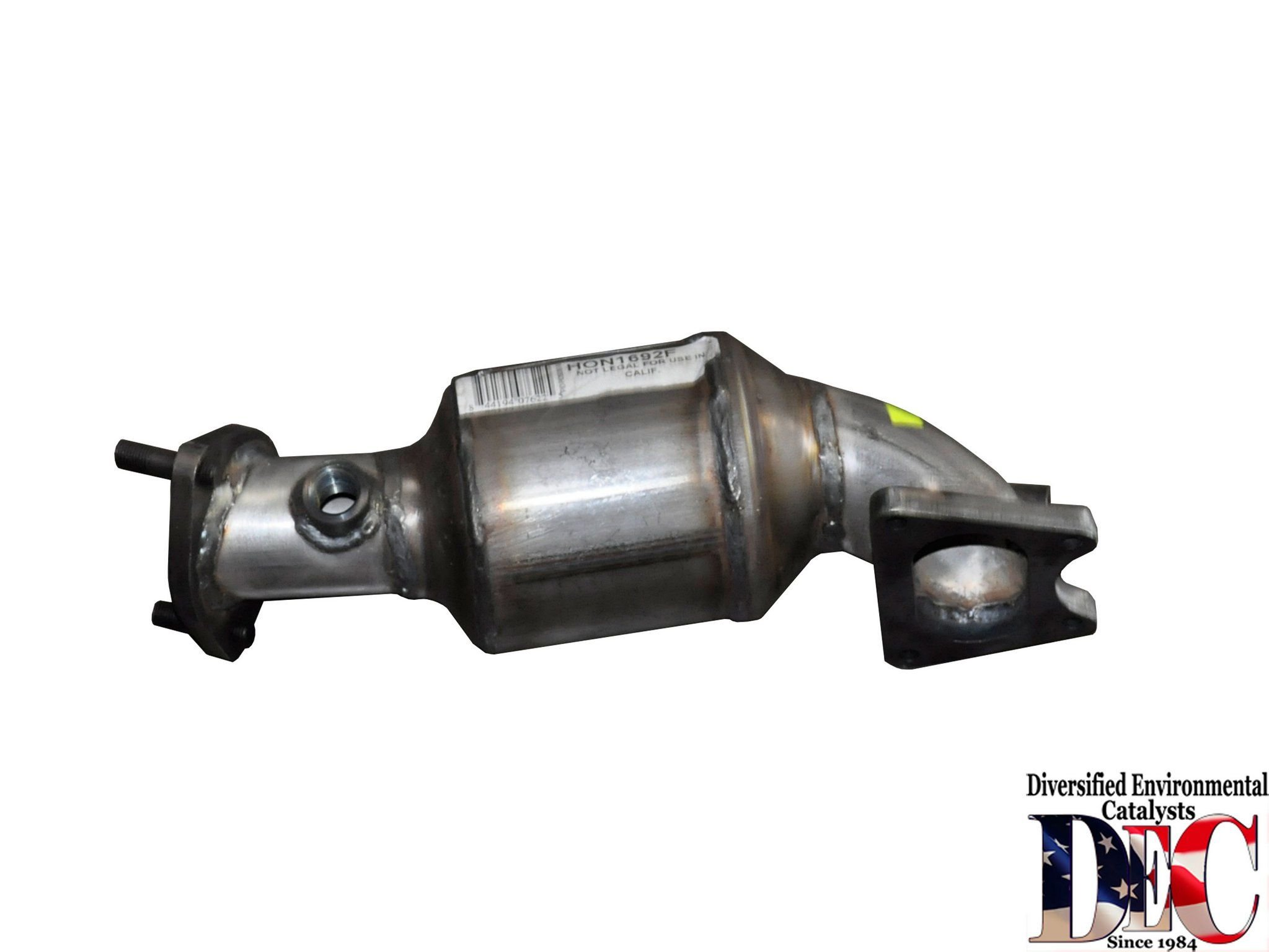 2008 Acura TL Catalytic Converter - Front Left 6 Cyl 3.5L (DEC HON1692F)  (Bank #2) E.P.A. Compliant Catalytic Converter .