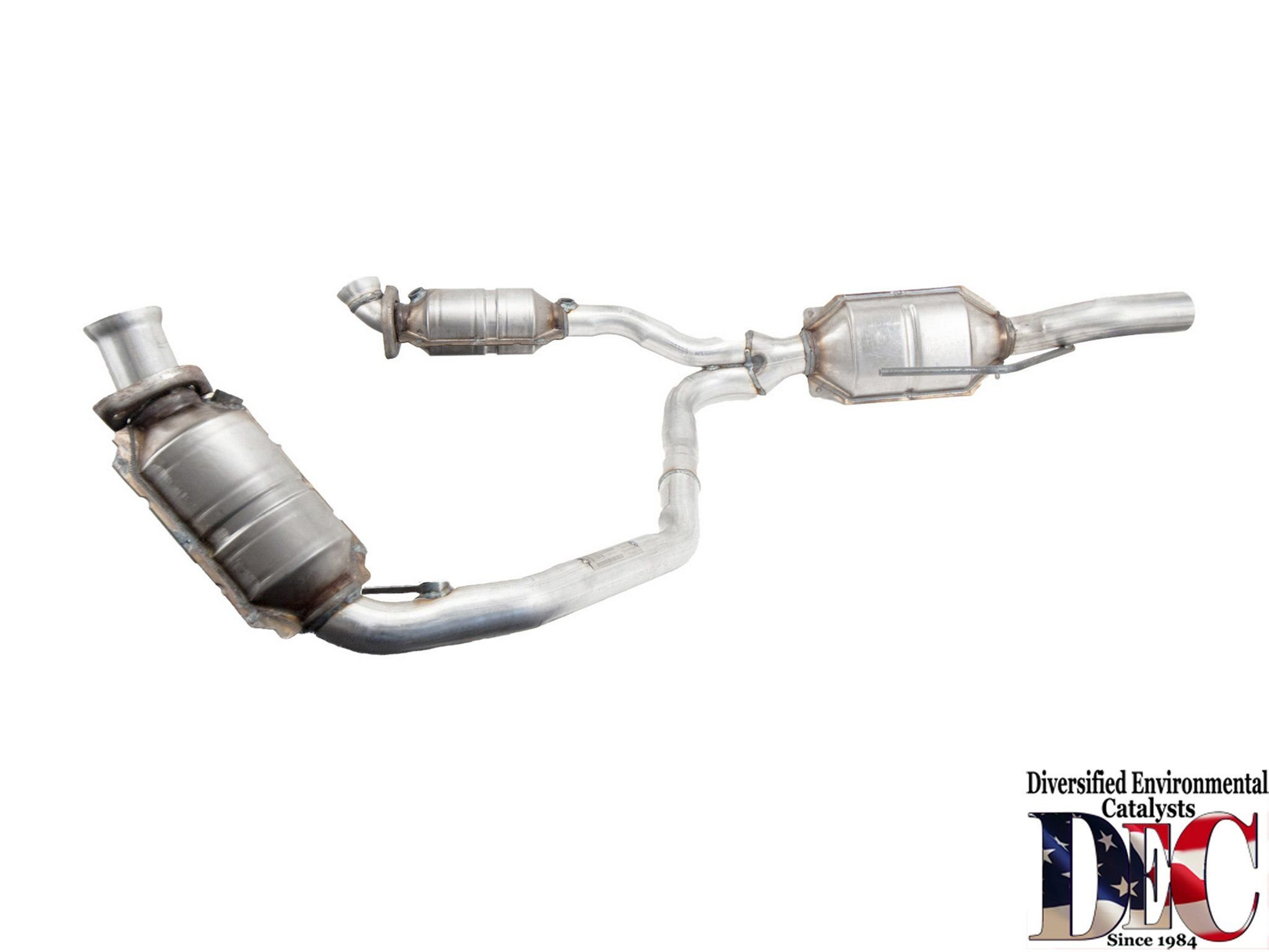 Dodge Ram 1500 Van Catalytic Converter and Pipe Assembly