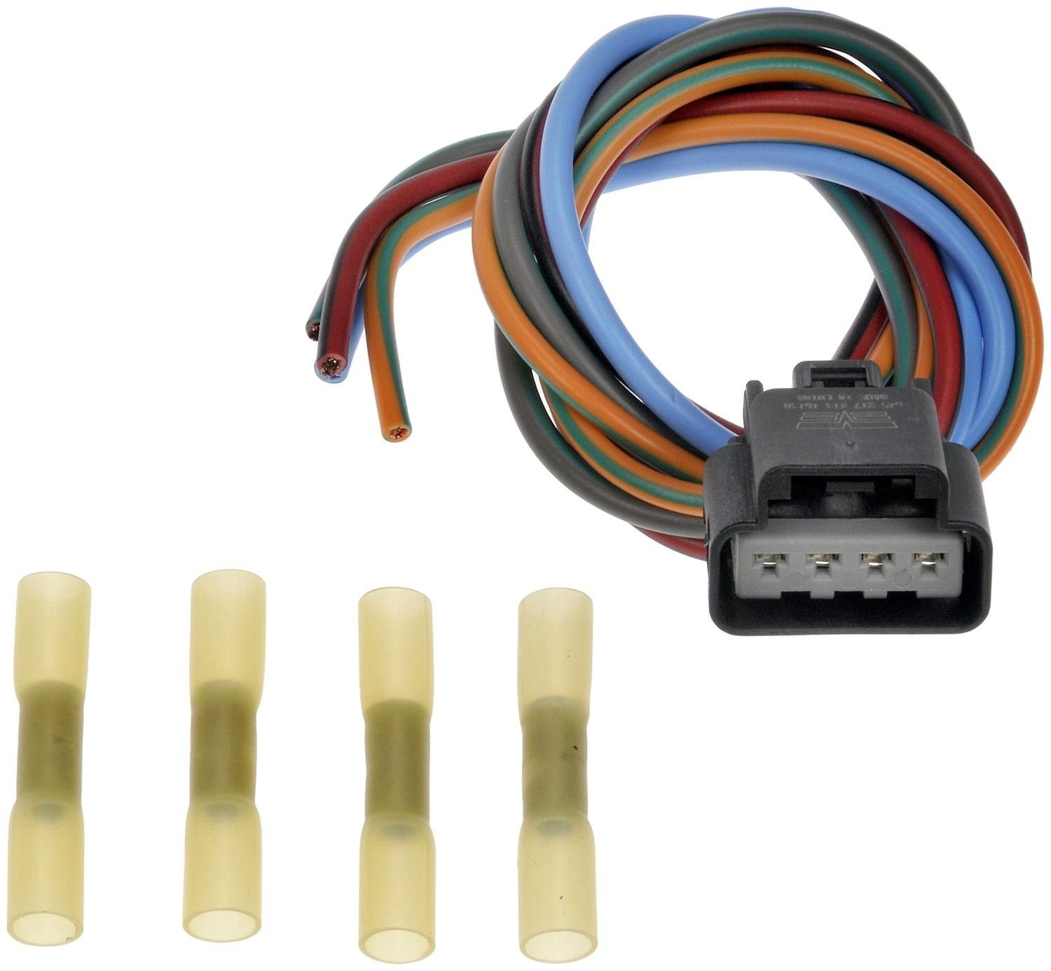 2006 jeep grand cherokee hvac blower motor resistor connector (dorman  645-217) excludes automatic climate control