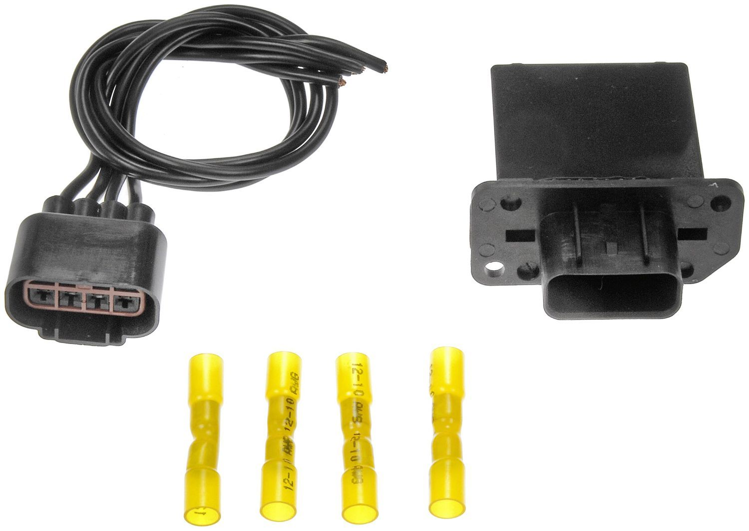 Ford Escape Hvac Blower Motor Resistor Kit Replacement Dorman Go Wiring Harness Connectors 2008 N A 973 518 W Manual Control Air Conditioning