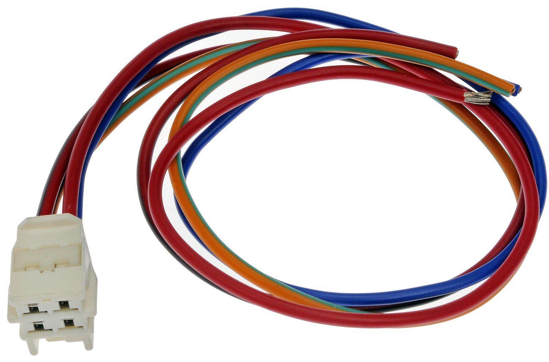 Toyota Matrix Hvac Blower Motor Resistor Connector Replacement Wiring 2003 N A Dorman 645 729